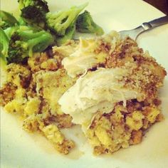 stove top   sour cream chicken = easy crock pot dinner!  Yum!