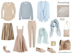 Capsule Wardrobe inspiration: 12 Months, 12 Outfits: March