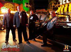 Rick, Corey, Chum y el Viejo: ¡Ante todo, mucho estilo! El Precio de la Historia, todos los Domingos a las 10PM MEX - COL / 10.30PM VEN / 8PM CHI / 9PM ARG