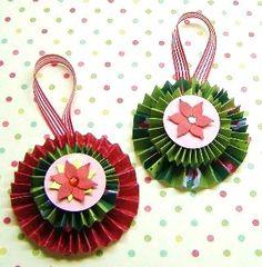 Decorative paper ornaments 2