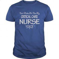 Critical Care Nurse Voice Shirts #tee #clothing. BUY NOW => https://www.sunfrog.com/Jobs/Critical-Care-Nurse-Voice-Shirts-Royal-Blue-Guys.html?60505