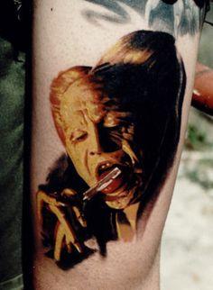 Boys And Ghouls Horror TattoosDracula TattooGothic VampireVampire TattooAmazing TattoosGary OldmanAmazing
