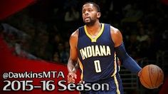 C.J. Miles - Paul George - Indiana Pacers - Washington Wizards