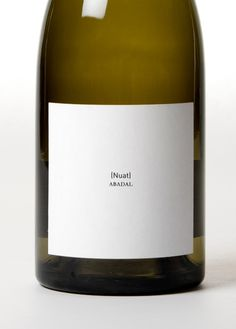 Nuat wine by clase bcn #minimal design wine vinos maximum vinho