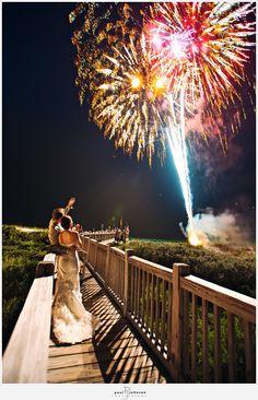 Wedding Fireworks!