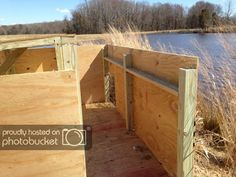Does anyone have any plans for a blind that will be out for the entire season? Goose Blind, Duck Hunting Blinds, Duck Blind Plans, Waterfowl Hunting, Diy Blinds, Duck Boat, Diy Wood Projects, Ducks, Outdoor Structures