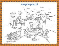 Kleurplaat Pompom Voeding Tekenen Pinterest Voeding