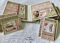 Cheryl's Paper Creations: *Sold* Stamperia Spring Mini Album By Cheryl's Paper Creations Memory Books, Hello Everyone, Cheryl, Mini Albums, Decorative Boxes, My Etsy Shop, Memories, Paper, Spring