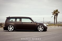 Join the Club . . . Man!  Yet another cool MINI clubman via | OMG Pancakes