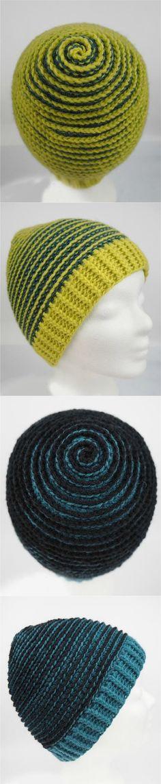 05fbd331553 Crochet Spiral Beanie - Pretty Ideas. Crochet Gloves PatternCrochet CapCrochet  ...