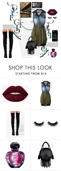 """my style!"" by olyayankova on Polyvore featuring мода, Dsquared2, Jeffrey Campbell, Christian Dior, Maybelline и Casetify"