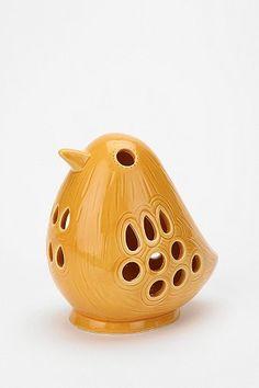 Sunshine Bird Votive Candle Holder