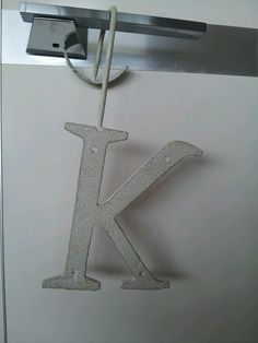 K letter decor, antholopogie
