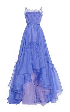 Organza Ball Gown by Luisa Beccaria | Moda Operandi