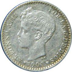 Monedas 50 céntimos-Plata