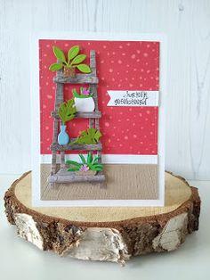 Creative Hummingbird: Marleen's Greenery on Shelves