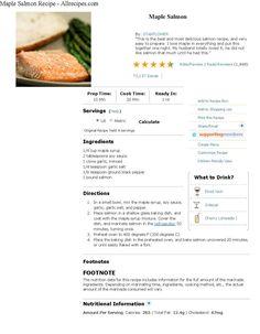Good Salmon recipe