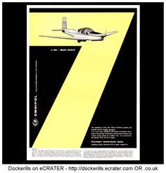 Omnipol L40 Meta Sokol Aircraft Aeroplane Advert. From Interavia Magazine, 1959.