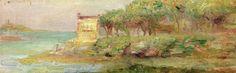 Pierre-Auguste Renoir (1841-1919) -  Cannes - 1892 - Private Collection
