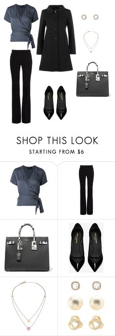 """""""45 glamoroso cuidado"""" by sofi-calise on Polyvore featuring Theory, Alexander McQueen, Yves Saint Laurent, Michael Kors, Charlotte Russe and Aspesi"""