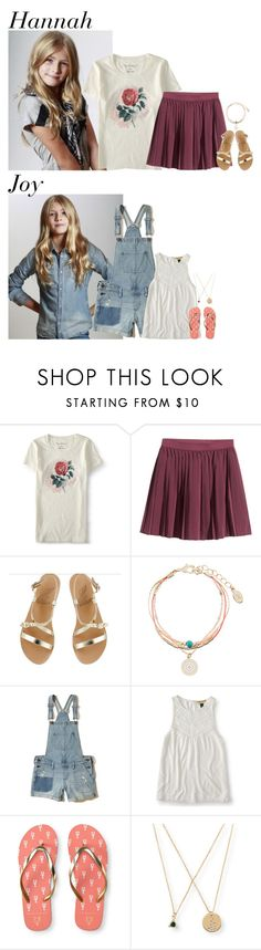 """""""Friday // Grace's Birthday Party // 4/14/17"""" by graywolf422 ❤ liked on Polyvore featuring Aéropostale, H&M, Ancient Greek Sandals, Accessorize, Hollister Co. and woodwardfam"""
