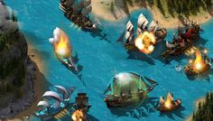 The Pirate Ship Sea Battles in the free-to-play online game Pirate Storm will knock the eye patch clean off your head with its non-stop action. Engage in hard-fought ship to ship sea battles with thousands of players PvE or PvP; dueling other players or battle deep sea monsters alongside your friends online. It's in-your-face pirating action in Pirate Storm online!