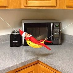 ELF ON THE SHELF | 2013 -- Fun Elf on the Shelf ideas! by tammy