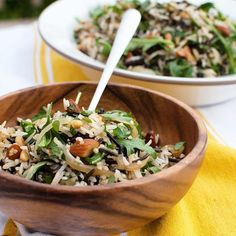 Rice Salad With Nuts & Sour Cherries