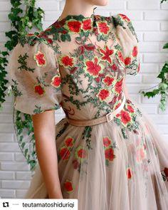 Beige Dresses, Elegant Dresses, Pretty Dresses, Beautiful Dresses, Vintage Dresses, Prom Party Dresses, Evening Dresses, Tulle Dress, Dress Up