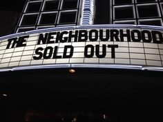 The Neighbourhood concert @Mackenzie Schulte  we have to go!!! :D