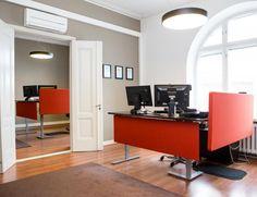 Wasa Dredging toimiston sisustussuunnittelu Aveo Vaasa