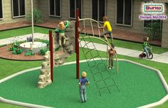 Nucleus NU-1974 - Commercial Playground Equipment | Outdoor Play Structures | BCI Burke