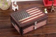 Cash Box, Money Box, Vintage Decor, Retro Vintage, Tea Biscuits, Tin Boxes, Metal Tins, Usa Flag, American Flag