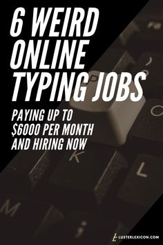 6 Best Online Jobs for Writers to Make a Living Writing - Luster Lexicon - Earn Money Online Typing Jobs, Best Online Jobs, Work From Home Careers, Online Work From Home, Earn Money From Home, Way To Make Money, Money Fast, Job Info, Job Interview Tips