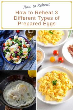 Some varieties of prepared eggs are harder to reheat than others, but with the right technique and tricks, you can master the art of reheating eggs in no time! Deviled Eggs, Scrambled Eggs, Fancy Dishes, Soft Boiled Eggs, Cooking 101, Vegetarian Paleo, Poached Eggs, Baking Pans