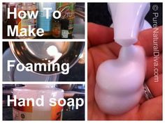"Making your own foaming soap  is so easy and inexpensive – Use our ""how to many foaming soap recipe"" as a guide!   Anyone can do this!  You'll never wonder what is in your soap, plus an average family using one bottle of foaming hand soap a week will save an average of $180 a year."