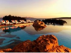 Hotel Pitrizza in Costa Smeralda is where I stayed in Sardinia, and I would love to return someday!