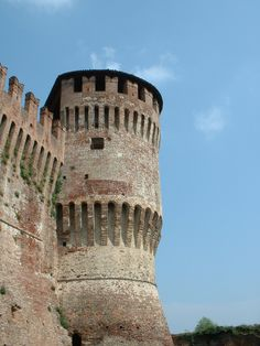Soncino, a village in the province of Cremona.
