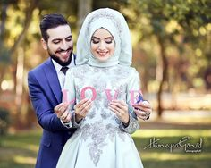 Nobody has ever measurednot even poetshow much love the human heart can hold. T Tesettür Makyajı Modelleri 2020 Wedding Couple Poses Photography, Wedding Poses, Wedding Shoot, Wedding Couples, Dream Wedding, Hijabi Wedding, Muslim Wedding Dresses, Cute Muslim Couples, Romantic Couples