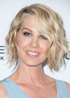 Actress Jenna Elfman arrives at the Marie Claire's Fresh Faces Party at Soho House on April 8 2014 in West Hollywood California