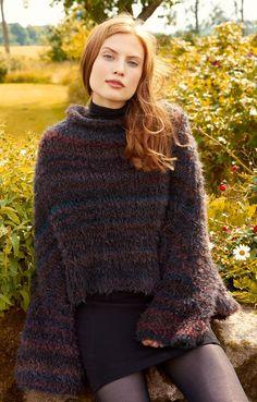 Lana Grossa PONCHO/PULLI GLATT RECHTS Colupo - FILATI No. 52 (Herbst/Winter…