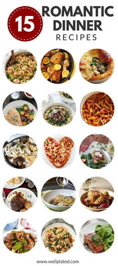 a romantic dinner for two valentines day of love pinterest