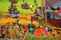 Os Gemeos, Bowery + Houston, NYC - unurth | street art