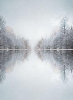 Frosty Lake.