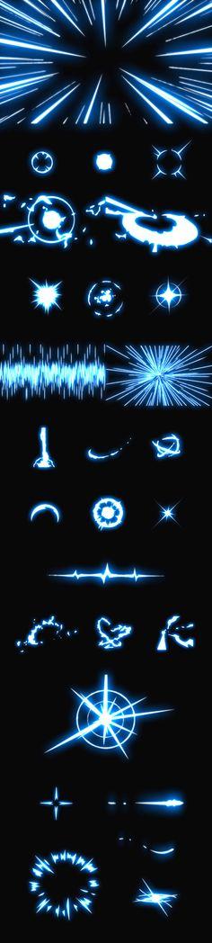 Flash动画特效素材 游戏特效素材 影...