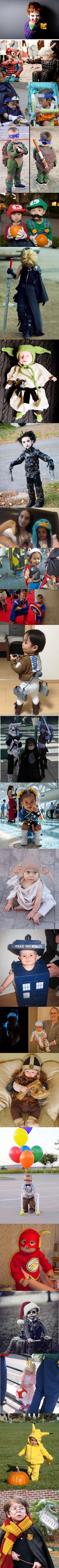 Geeky Parents Turn Their Kids Into Movie And Anime Characters  Who Will Melt Your Heart. THIS IS SO CUTE!!!!!!!