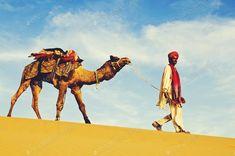 În deșert