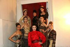 #michelleparkeshair # coresalonnj #beautycomesfromthecorenj # taste of glamor #fashionshow # actress # amandagreer