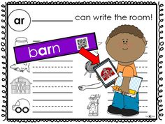 Write the Room: R-controlled Vowels--a great opportunity to get your students moving as they hunt the room for words that reinforce the current phonics or spelling rule they are studying in their Word Study groups, Words Their Way, or Daily 5 centers. You will see how engaged your students will be. The students may use a QR reader to check their work. This is a great tool for self-assessment and encourages problem solving.