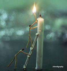 Amazing art using match sticks Still Life Photography, Macro Photography, Creative Photography, Photography Courses, Newborn Photography, Landscape Photography, Photography Ideas, Mago Tattoo, Funny Love Pictures